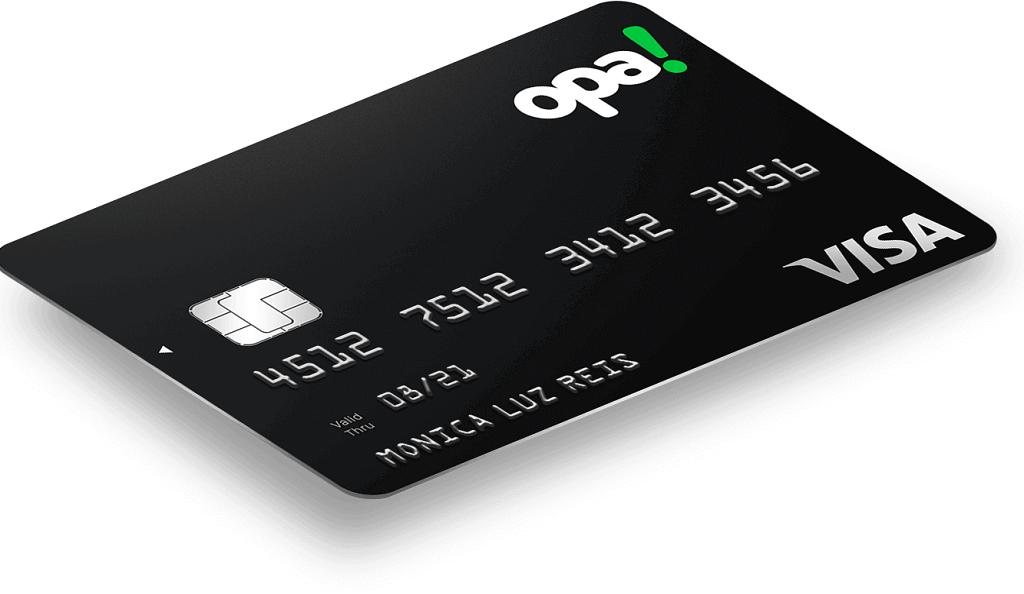 Cartão de Crédito pré pago Opa