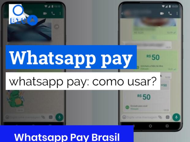 whatsapp pay como ativar