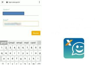 Como trocar o e-mail do caixa tem?